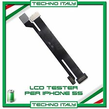 NOVITA' TESTER LCD DISPLAY TOUCH SCREEN SCHERMO CAVO FLAT PER IPHONE 5S