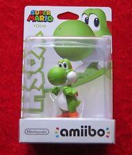 Yoshi amiibo personaje versión 2, Super Mario Collection, nuevo-en su embalaje original