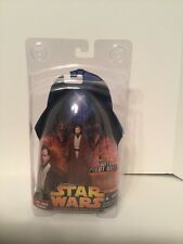 "Star Wars 2005 OBI-WAN KENOBI With Pilot Gear w/Clamshell Case 3.75""  Fig.MOC"