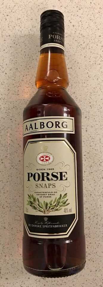 Vin og spiritus, Aalborg Porsesnaps