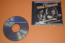 Ike & Tina Turner-GOLDEN Empire/Teldec 1986/made by Sanyo Giappone/RAR
