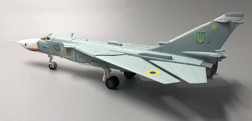 1 72 SU-24 MR  jaune 15  Ukrainian Air Force