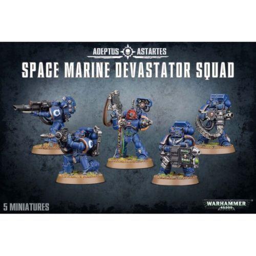 Warhammer 40K  Adeptus Astartes - Space Marine Devastator Squad GWS 48-15