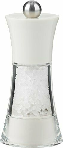 Tall Stainless Steel Stainless Steel 4-1//2-Inch Salt and Pepper Shakers
