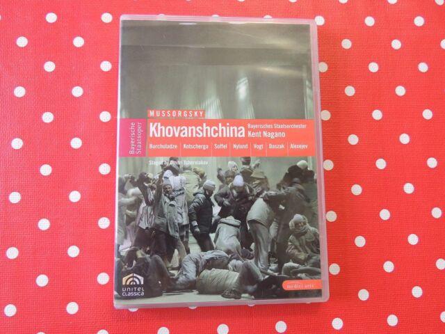 Mussorgsky Khovanshchina Bayerisches Staatsorchester Kent Nagano DVD