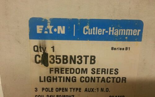 EATON CUTLER HAMMER CN35BN3TB LIGHTING CONTACTOR