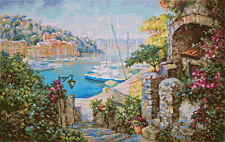 "Counted Cross Stitch Kit PANNA - ""By the Southern Sea"""