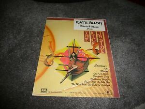 Kate-Bush-039-Words-and-Music-from-The-Kick-Inside-039-Sheet-Music-1978-RARE