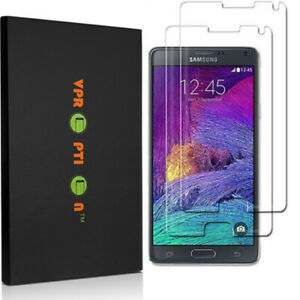2X VPROPTION Tempered Glass Screen Protector Saver For Samsung Galaxy Note 4