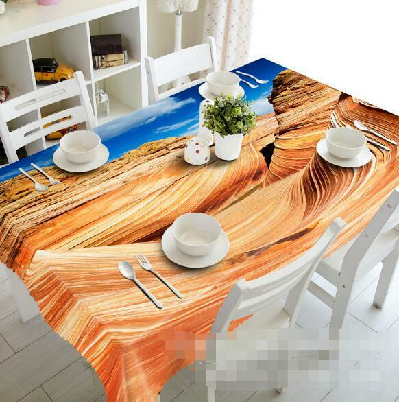 3D Desert 952 Tablecloth Table Cover Cloth Birthday Party Event AJ WALLPAPER AU