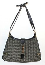 Mark Cross vintage logo with metal embellishments shoulder bag  distress 60's