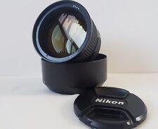 Nikon AF-D Nikkor 85mm f1.4
