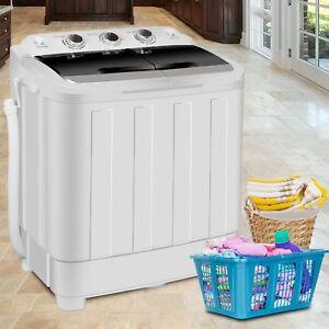 17-6LBS-Portable-Washing-Machine-Mini-Compact-Twin-Tub-Laundry-Washer-Spin-Dryer