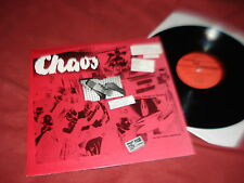 NOCTURNAL EMISSIONS Chaos Live 12983 LP NEW WAVE INDUSTRIAL