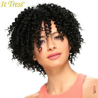 It Tress Pink Soft Lace Front Crochet Wig - 505