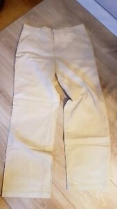 CAMBIO-Women-039-s-Trousers-Beige-Size-42-M-106