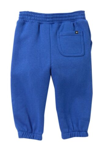 Hurley Infant Toddler Boy/'s 12M Blue Logo Sweatpants Bottoms Pants Core Joggers