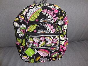 Vera Bradley Moon Blooms Campus Backpack NEW-- 109 MSRP  12470-168 ... 636c4f7d8d78f