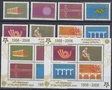 50 JAHRE EUROPAMARKEN CEPT - 2005 JUGOSLAWIEN - 3257-64 A + BLOCK 59-60 A **
