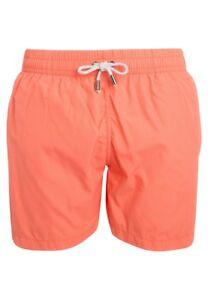 Kiwi-Saint-Tropez-United-Badeshorts-corail-orange-short-Taille-UK-30