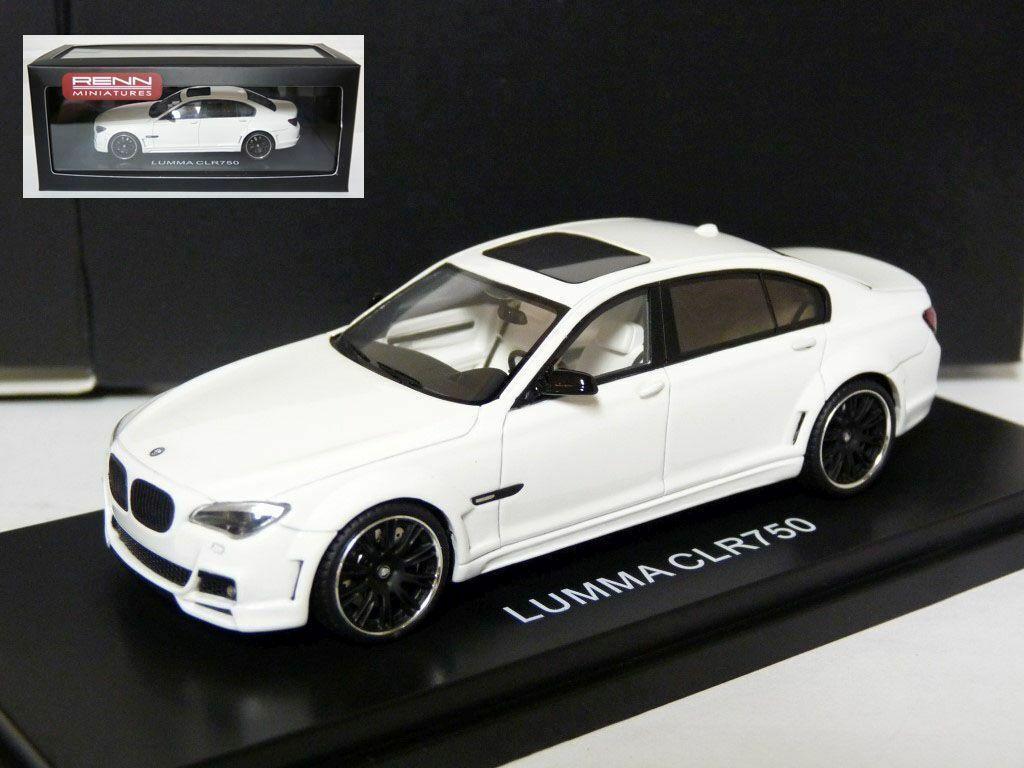 Renn miniatures 1 43 2010 BMW 760 LUMMA CLR 750 résine voiture modèle