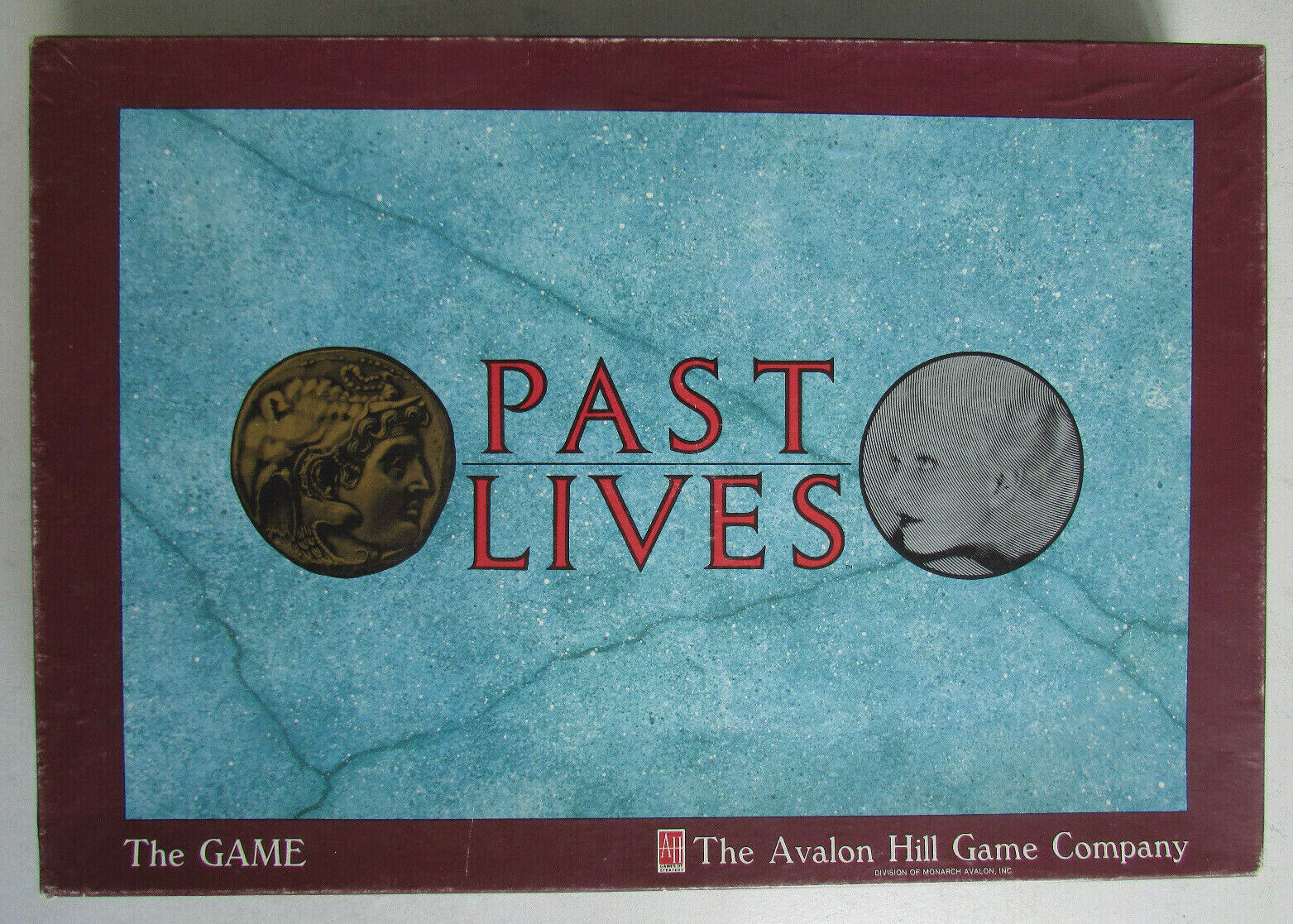 Jeu de société Past Lives The Avalon Hill tavola gioco azienda 1988 tavola gioco