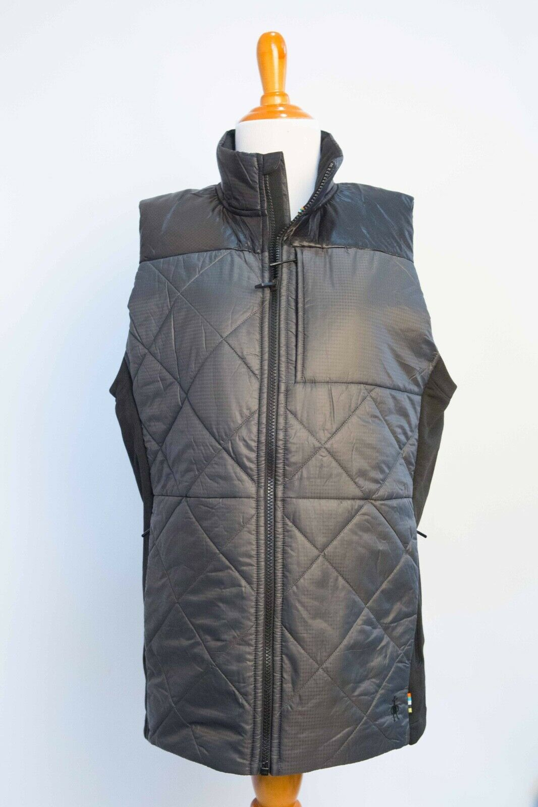 06019b7ad SmartWool Men s MED Smartloft (SWF181M) Graphite Medium Vest 120 norxuq3035- Coats   Jackets
