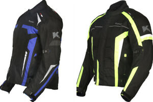 Mens-Motorbike-Jacket-CE-Armoured-Winter-Waterproof-Cordura-Textile-Motorcycle