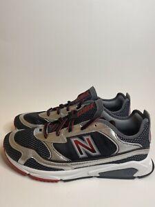 New-Balance-X-Racer-Men-039-s-Shoes-Black-Velocity-Red-MSXRCSNG
