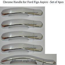 Imported Premium Quality Chrome Door Handle for Ford Figo Aspire - Set of 4 pcs