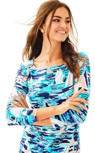 NWT Lilly Pulitzer UPF 50 Sophie Dress Multi Pier Pressure XXS,M