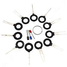 11x Car Terminal Extraction Pick Connector Crimp Pin Back