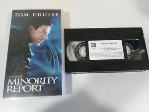 MINDERHEIT-BERICHT-TOM-CRUISE-STEVEN-SPIELBERG-VHS-AUSGABE-SPANISCH