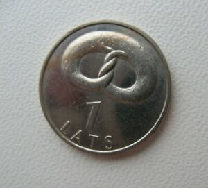 LATVIA-LETTLAND-1-LATS-2005-PRETZEL
