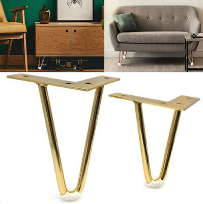 4pcs Gold Hairpin Legs Protectors For, Where To Get Legs For Furniture