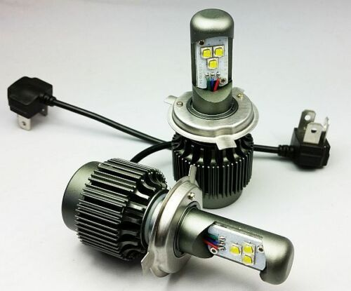 H4 CREE LED TURBO SUPER BRIGHT 6000 LM XML CHIP HEADLIGHTS  A