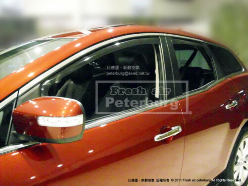 for 2007-2012 MIT for MAZDA CX-7 In-channel Wind Deflectors Weather Guards