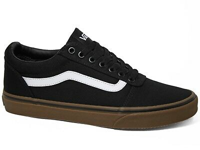 Vans Ward Low Canvas Herren Sneakers Black Gum Schwarz Gummi Braun VN0A36EM7HI1 | eBay
