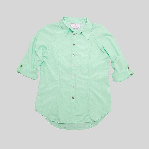 Maven Fly Women's FLY Shirt  Sea Foam Green NEW  XL  EXTREME CLOSEOUT