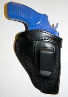 Leather Reinforced Top Iwb In The Pants Holster - S&w L 686 586 Frame 4revolver