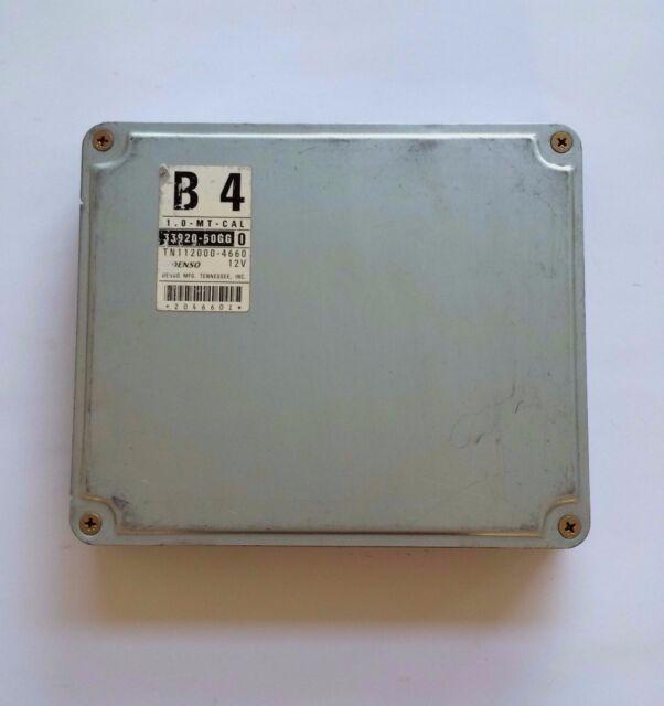 Oem 1997 Geo Metro 1 0l Mt Cal Engine Computer Ecu 33920
