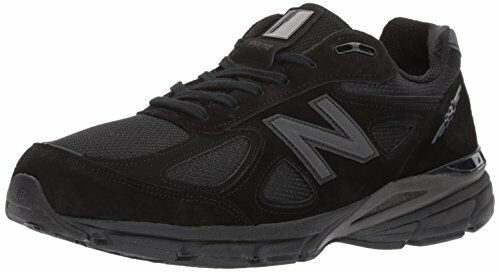 New Balance Mens 990V4 Running shoes, Black Black, 10.5 D US