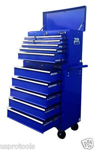 221 US PRO TOOLS BLUE AFFORDABLE TOOL CHEST ROLLCAB STEEL BOX ROLLER CABINET - Gainsborough, United Kingdom - 221 US PRO TOOLS BLUE AFFORDABLE TOOL CHEST ROLLCAB STEEL BOX ROLLER CABINET - Gainsborough, United Kingdom