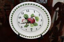Portmeirion Botanic Garden Wall Clock Lilac For Sale Online Ebay