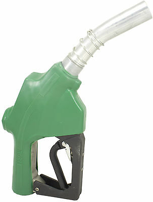 """ZL-120L Green Stainless 1"""" 1-3/16"""" Automatic Fueling Nozzle Gas Diesel Biodiesel"""