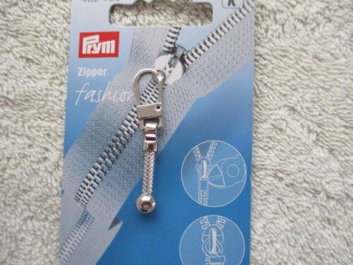 Zipper Pull Prym /& Hemline Fashion Zip Puller Choice of Designs