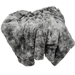 Chanasya-Super-Soft-Fuzzy-Fur-Warm-Charcol-Gray-Sherpa-Throw-Blanket-Charcoal-D