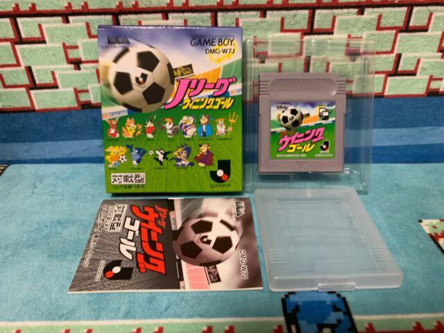 J League Winning Goal Game Boy Japan Nintendo boxed