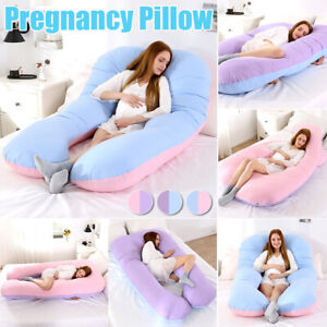U-Shape-Pregnancy-Pillow-Bedding-Full-Body-Comfortable-Pregnant-Sleeping-Cushion