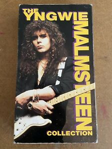 Yngwie-Malmsteen-The-Collection-1992-Rare-VHS-Hair-Metal-FREE-SHIPPING